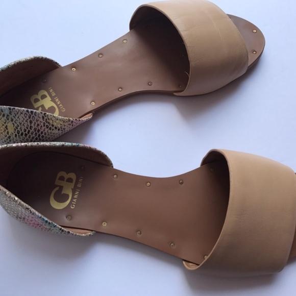 94ecc5ca0ea88f Gianni Bini Shoes - Gianni Bini Snakeskin Print Rainbow Flats Size 7.5